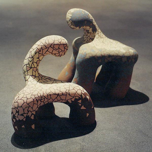 山仲さんの陶芸作品