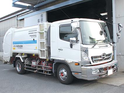 富士清掃センタートラック