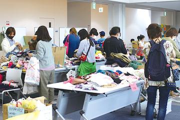 Fujiリユース・エコマーケット会場