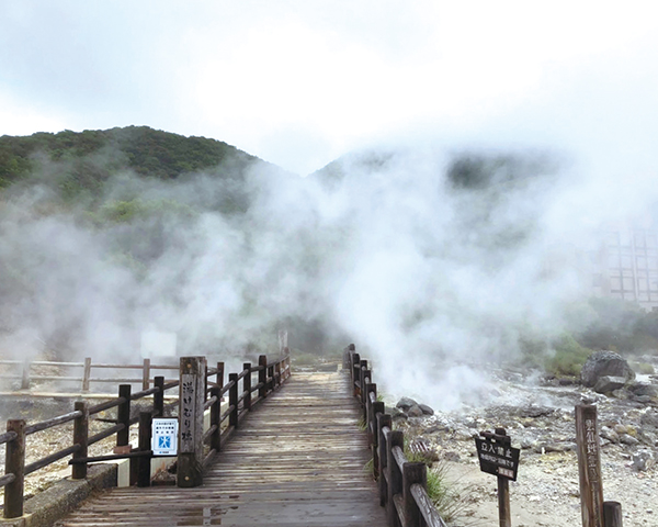 長崎・雲仙地獄の温泉