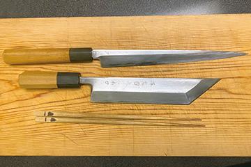 柳包丁と鰻裂き包丁