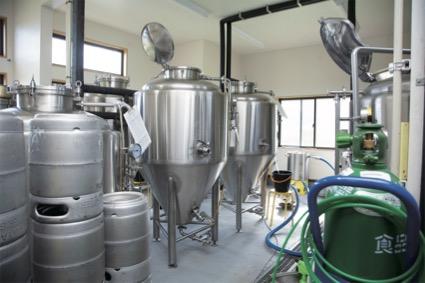 柚野ビール工場内