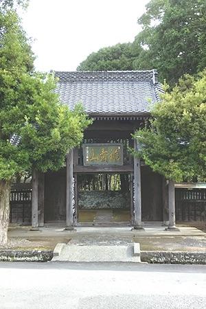 瑞林寺の山門